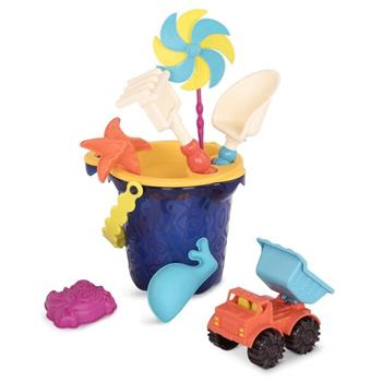 B.Toys: Wiaderko średnie z akcesoriami do piasku