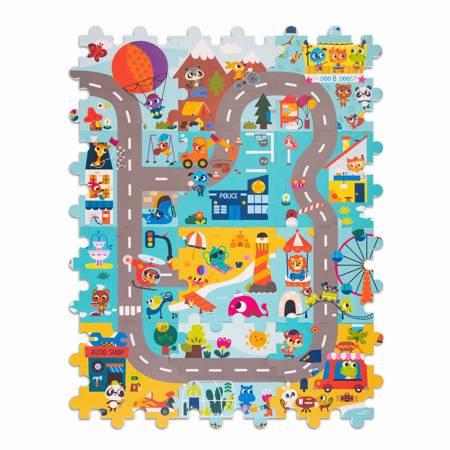 B.Toys: Whimsy Land - mata piankowa - puzzle