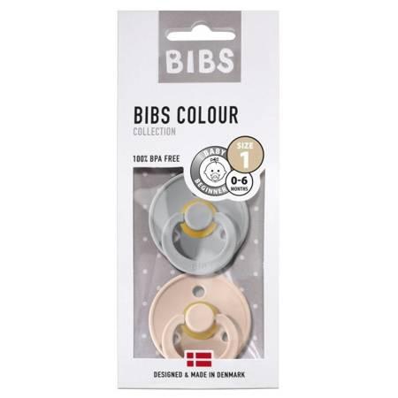 BIBS - Zestaw smoczków S BLUSH & CLOUD