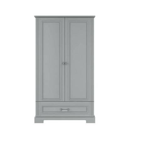 Bellamy - Szafa 2-drzwiowa Ines neutral grey