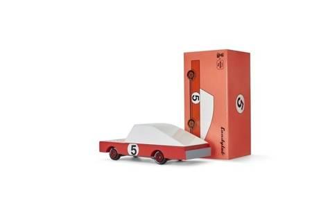 Candylab: Samochód Drewniany Red Racer