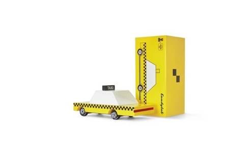 Candylab: Samochód Drewniany Yellow Taxi