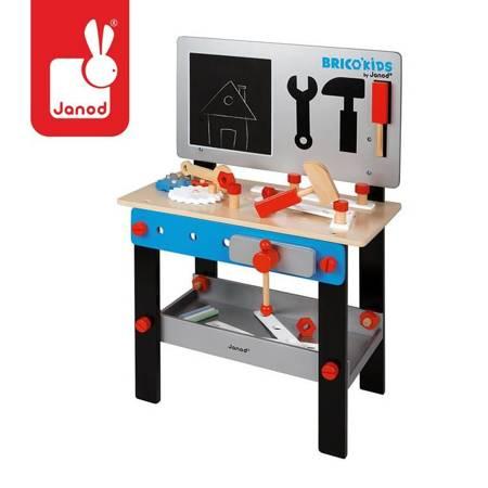 Janod - Stolik warsztat drewniany magnetyczny 24