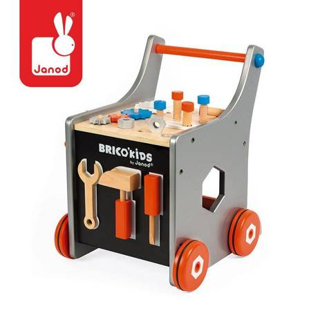 Janod - Wózek warsztat magnetyczny z narzędziami